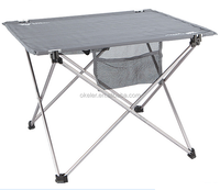 Aluminum Alloy Outdoor Camping Travel Fishing Picnic Folding Garden Table