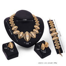 big chunky 24k gold plated party costume full jewelry sets