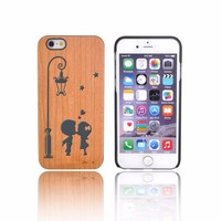 Double Check Quality Maple Wood Phone Case For Iphone 6 Plus