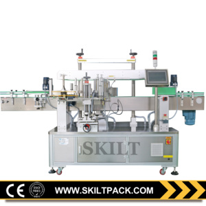 Full automatic chemical bottle adhesive labeling machine