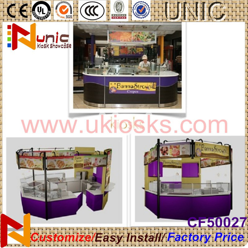 2015 Eco-friendly hot food display cabinet display case with high quality