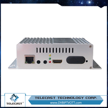 Support H.265 high efficient unicast 1A H.264 HD IPTV Encoder
