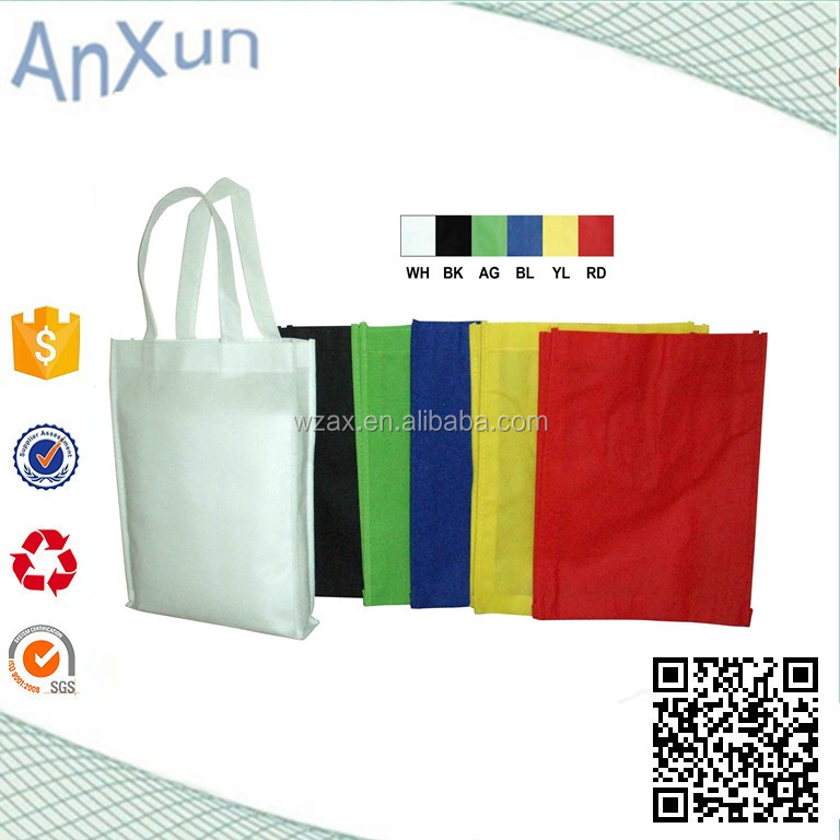 Fashion customized nonwoven pp shopping bags nonwoven traveling bag
