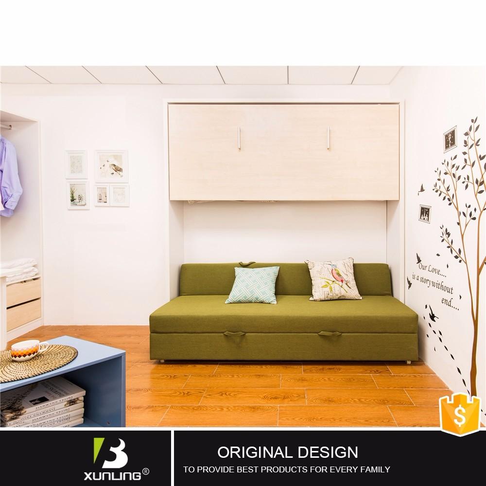 Platzsparend Falten Doppel Größe Sofa Etagen Kleine Bett