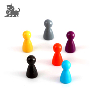 Plastic game pieces pawn chess for board game accessories