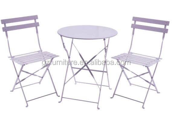 French Cafe Patio 3 Piece Table Chairs Backyard