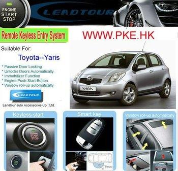 Auto Smart Start System Passive Keyless Entry Pke Remote Start ...