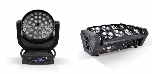DMX led matrix 5X30watt cob rgb 3in1 blinder dj club bar disco led light fixtures