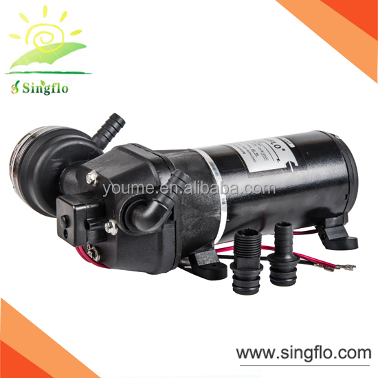 17L/min auto pressure self priming electric water diaphragm pump for RV/Marine