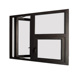 Shanghai factory low cost small basement casement windows