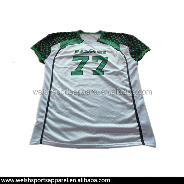 Design your own american football jersey custom made