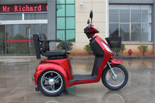 Electric tricycle disabled scooter Ruidi mobility scooter R3 three wheel scooter