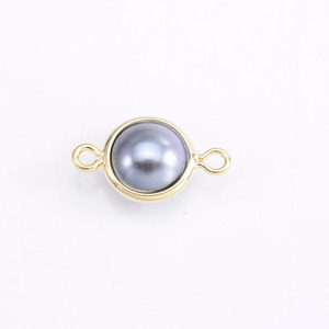 Artificial Pearl pendant with double hooks in different size for jewelry making