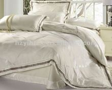 2017New Hotel Jacquard Silk Bed Sheet Design