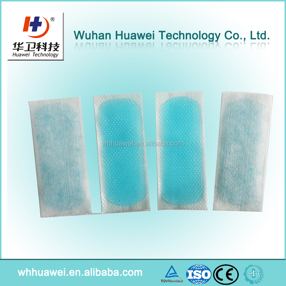 Cooling patch reducing fever /cool gel patch /cold fever plaster