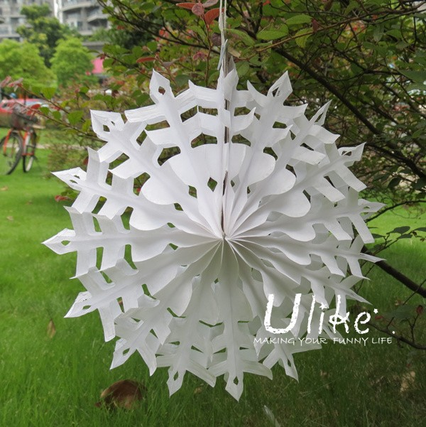 Large white paper flowers hanging tissue paper flowers christmas ulk c1301zg mightylinksfo