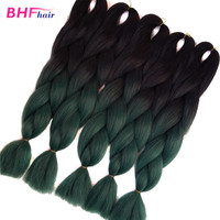 2016 aliexpress hair heat resisted dyeable synthetic hair