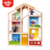 New Design Happy Family Furniture Kids DIY Wooden Toy Crib Doll House