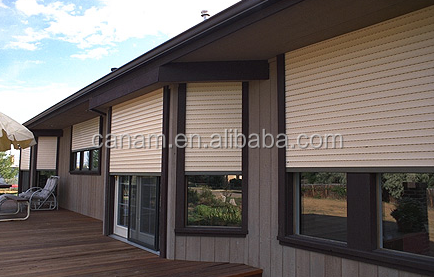 Residential lows prices waterproof roller shutters , window rollingsecurity shutter