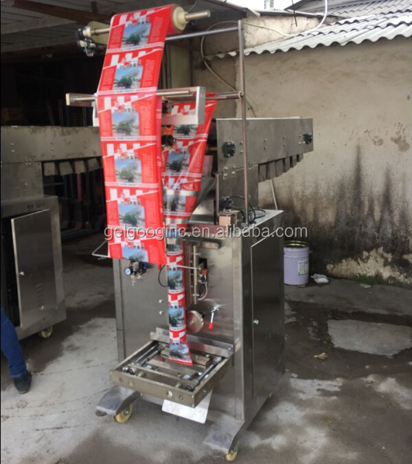 Chain Hopper Manual Material Feeding Jelly Candy Packing Machine