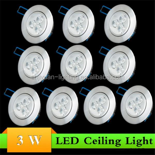 9W LED EPISTAR Ceiling Recessed Downlight Warm/Cool White Lamp