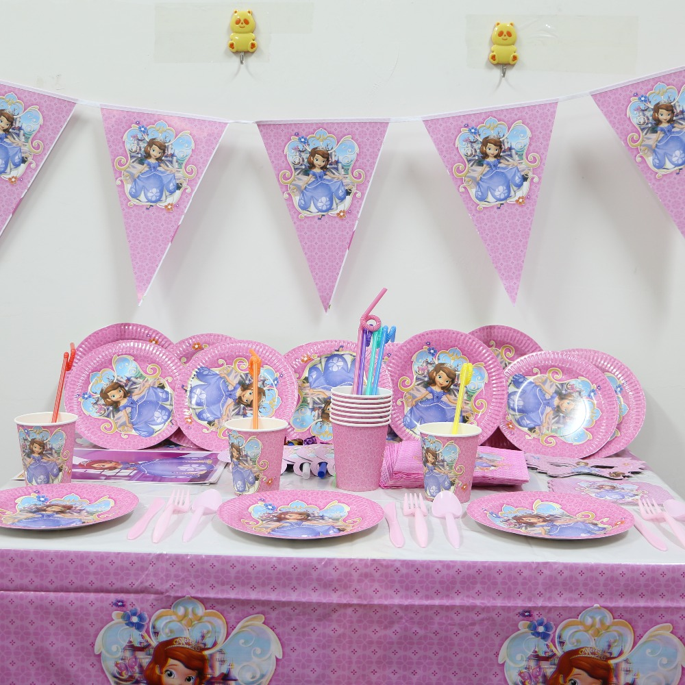 Diy Party Decoration Kit Clusters: SOFIA Theme Kids Birthday Party Sup (end 1/10/2020 12:49 PM