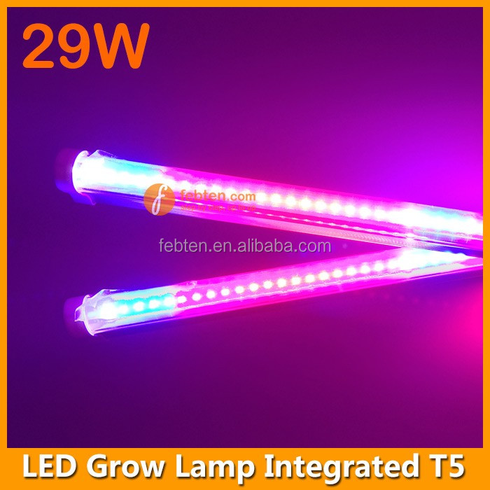 1200mm 29W plants growing indoor led grow tube integrated T5 light