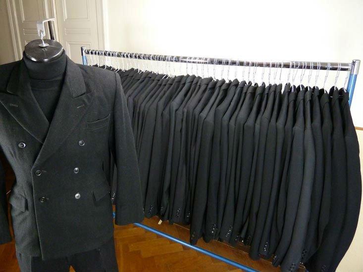 Mens Suits Black 1930s 1940s