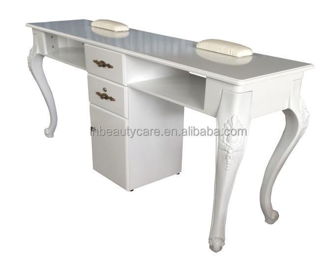 Lne 099 double table ongles manucure bureau pour 2 personnes salon table buy grande table - Tavolo per unghie ikea ...