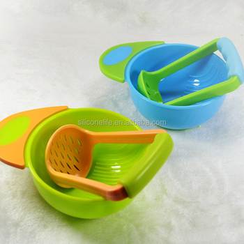 Baby Bowl Mash and Serve for Making Homemade Baby Food NEW Dishwasher Safe