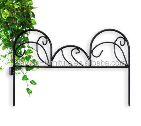 Garden Outdoor Supplies Lawn Decorative Iron Fence,metal Fence,small Garden  Fence