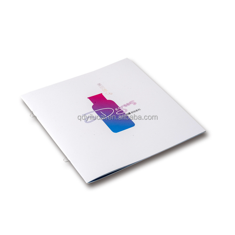 Custom Printing Design Cosmetic Brochure Wholesale