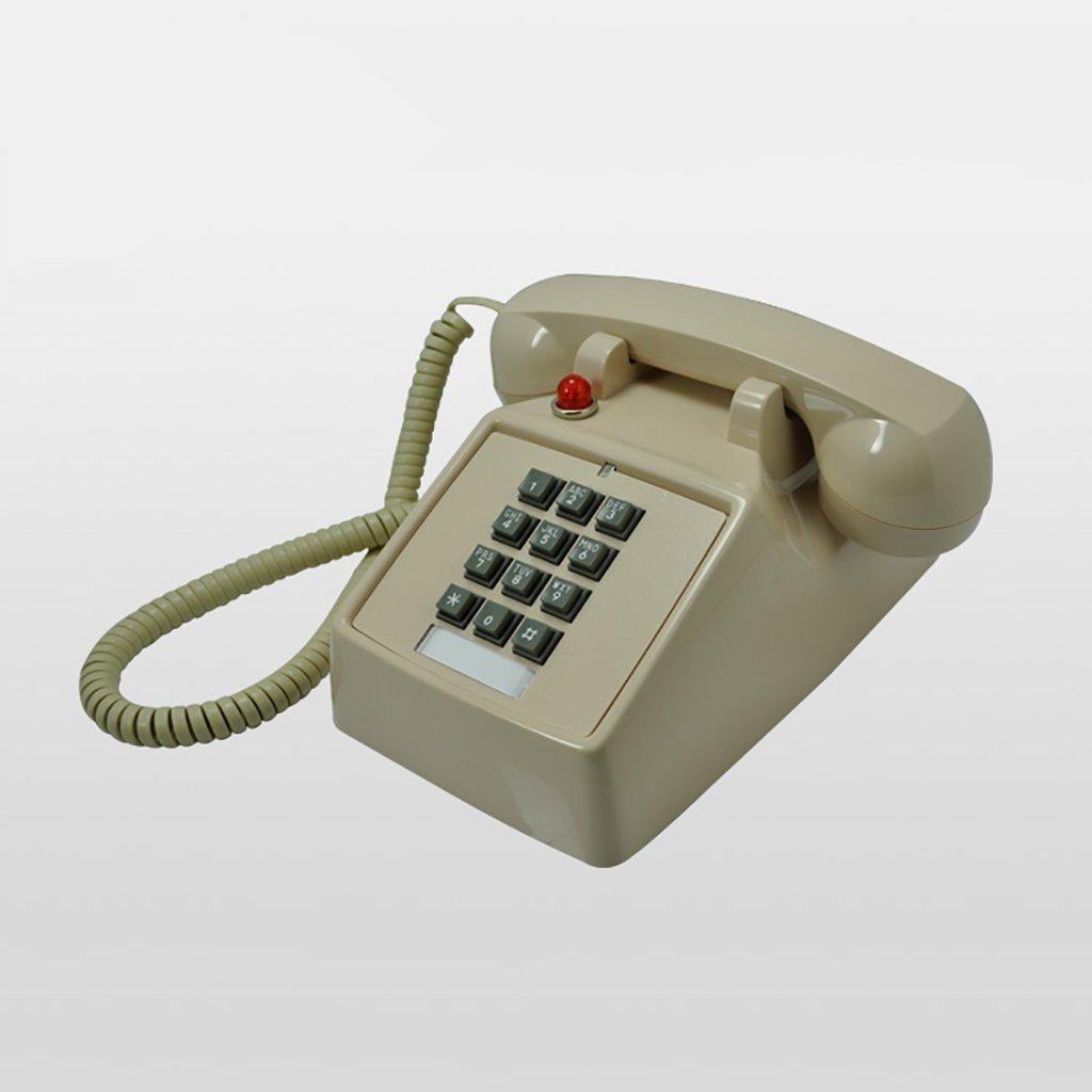 retro Telephone Retro Telephone Vintage Button Antique Vintage Landline Antique Fashion Creative Telephone European Mechanical Ringtones ( Color : Beige )