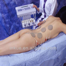 body massager electricity equipment produce a therapeutic effect
