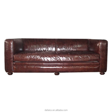 American Style Superb Vintage Leather Sofa Furniture