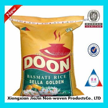 China Wholoesale Design Non Woven Wheat Flour Packaging Bags 50kg ...