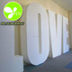 High Quality Large 3D Plastic Custom Lettering