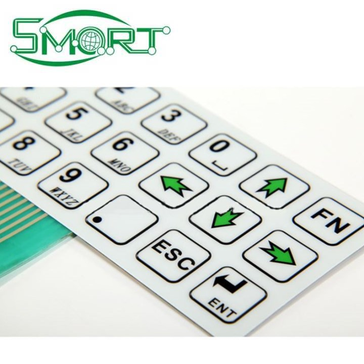 Smart Electronics~membrane switch with led,led push button membrane switch, switch panel,keypad