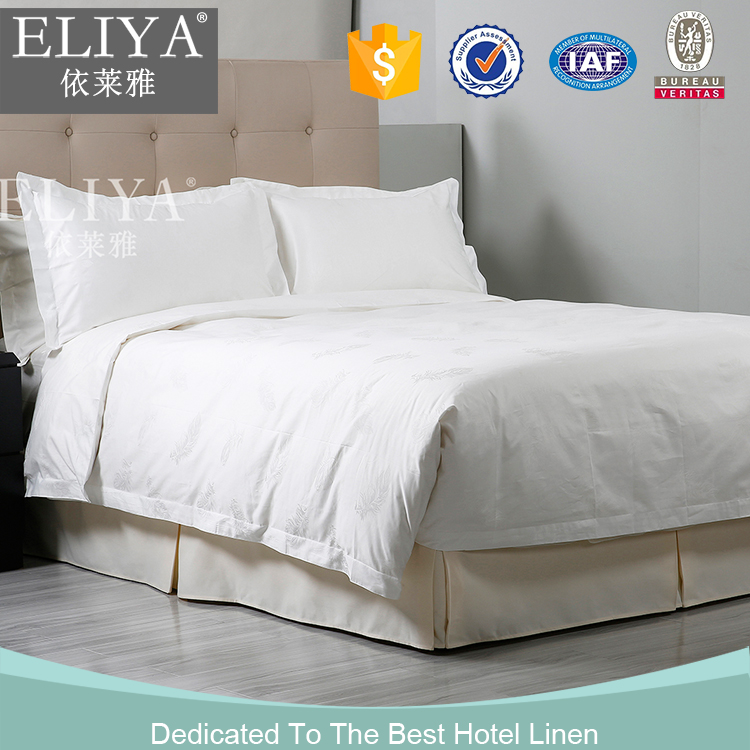 High Quality Decorative Top Hotel Sheets 4pcs Bed Sets 1000 Thread Count 100 Cotton