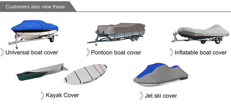 """Kleur Match Trailerable PWC Waterscooters Covers Jet Ski Cover voor 2-3 Seat Of 136 """"-145"""" lengte Waverunner, Polaris"""