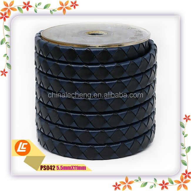 5mm X 11mm Bolo Plain Leather Cord Wholesale Price for 100 Meters