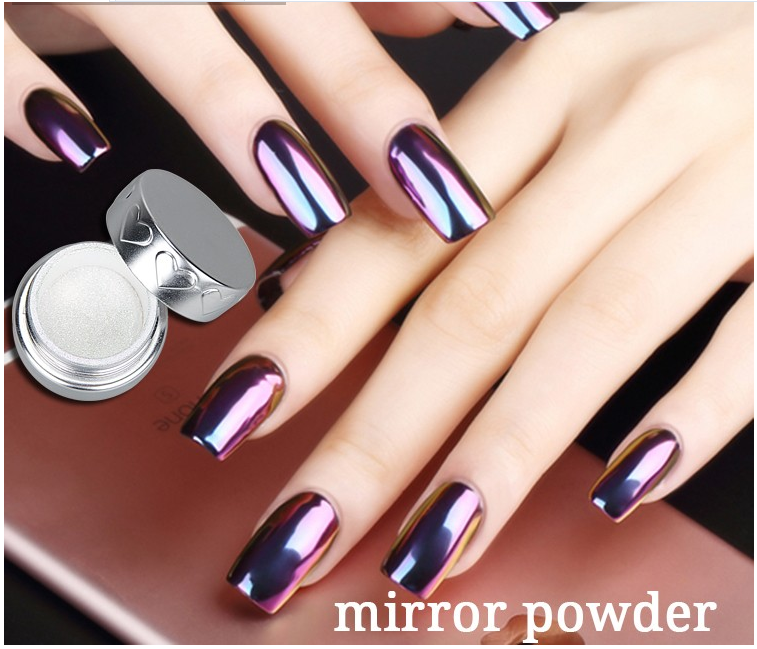 12 Colors Nail Art Chrome Magic Mirror Powder