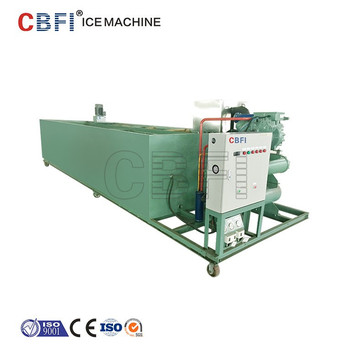 CBFI Guangzhou Factory Brine Refrigeration Commercial Ice Maker Industrial Ice Block Making Machine for Sale