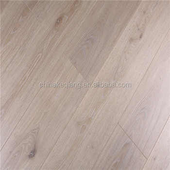 White Matte Gloss Laminate Flooring with AC4 Class32