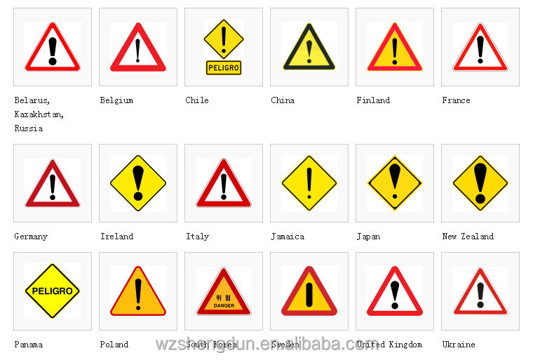 Traffic Sign With 3m Reflective Film