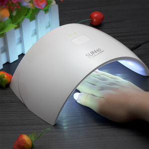 New design Sun 9c Sun9s double sun light 24W uv led gel nail lamp Nail Dryer with sensor with CE&ROHS