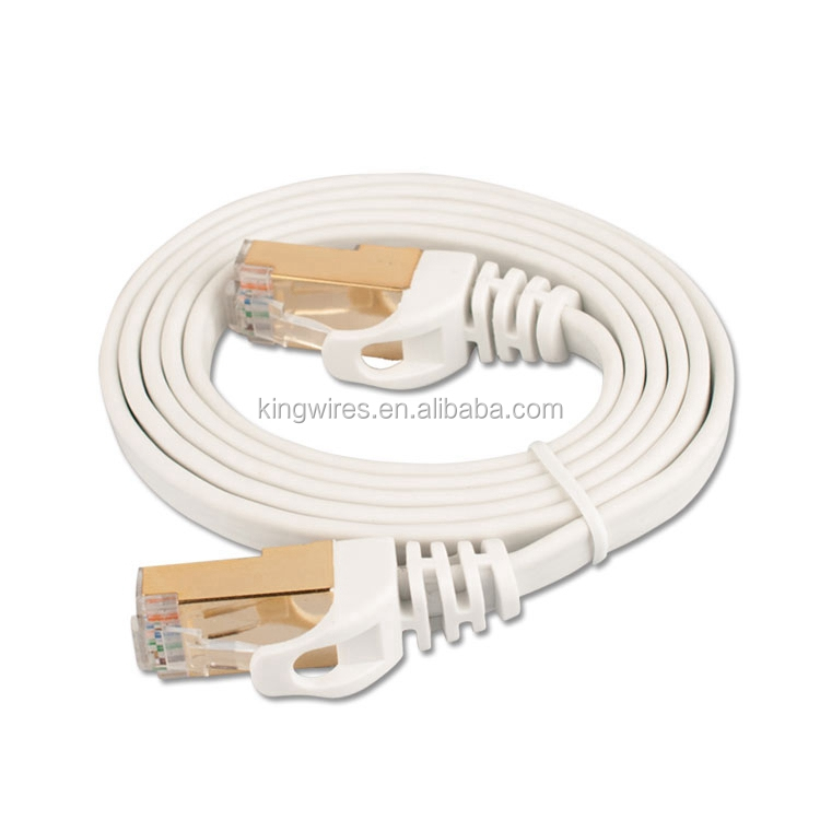Network Cable Snagless Ethernet Patch Round/Flat Cat6 Cable Fiber Optic Patch Cord