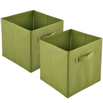 Practical Foldable Collapsible Fabric Cube Storage Containers Green  Rectangle Cubeicals Storage Cube   Buy Wooden Storage Cubes,Plastic  Foldable ...