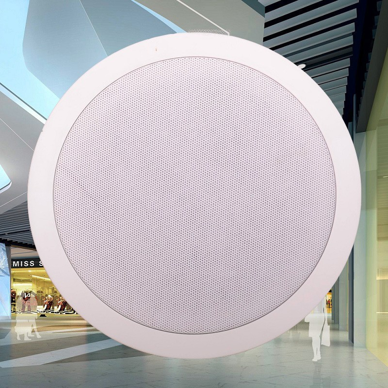 Home Theater,HSR108-8C 8-inches Coaxial Ceiling Speaker,Crossover 40W