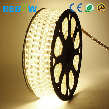 IP68 5050 IP67 waterproof flexible rgb led strip 110V 120V 220v 230V 240V